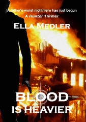 Blood is Heavier, by Ella Medler_ Cover